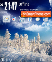 Snow 06 theme screenshot