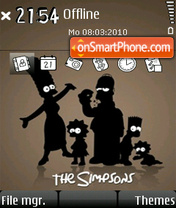 Simpsons 05 Theme-Screenshot