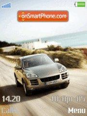 Porsche Cayenne es el tema de pantalla