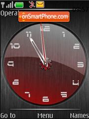 Analog clock anim theme screenshot