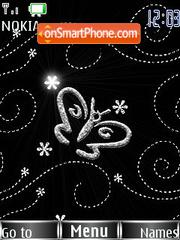 Elegant Butterfly theme screenshot