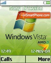 Amd Vista 01 es el tema de pantalla