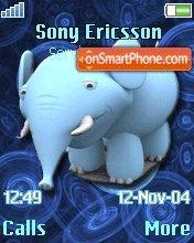Blue Elephant 01 es el tema de pantalla