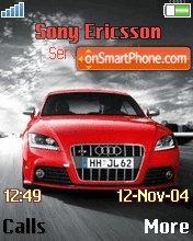 Red Audi TTS es el tema de pantalla