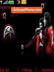 Ac Milan Red Devil theme screenshot