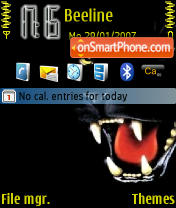 Wild Cat Theme-Screenshot
