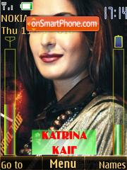 Katrina Kaif Battery & Signal Updater SWF Theme-Screenshot