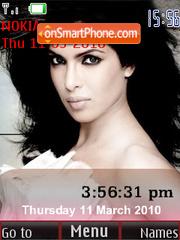 Priyanka Chopra SWF Clock theme screenshot
