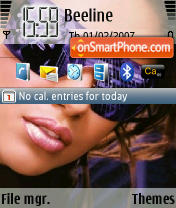 Adriana Lima St Icon theme screenshot
