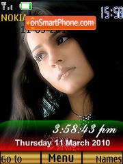 Woh Tera Naam Tha SWF Clock theme screenshot