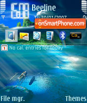 Adventure n80 theme screenshot