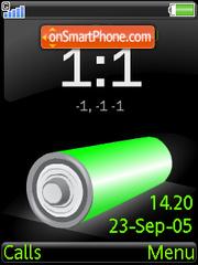Battery tema screenshot