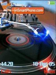 DJ theme screenshot