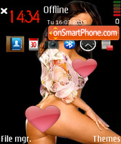 Stephanie lari theme screenshot