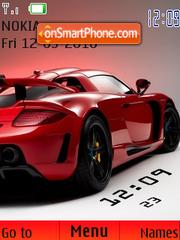 Porsche Clock theme screenshot