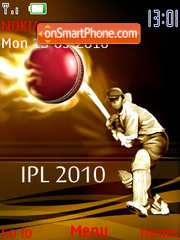 Ipl 2010 theme screenshot