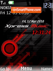 Xm With Mp3 Tone theme screenshot