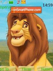 Simba 02 theme screenshot
