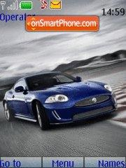 Jaguar Xkr theme screenshot