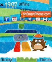 Vancouver theme screenshot