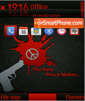 The New Peace Maker theme screenshot