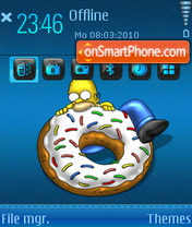 Homer 05 theme screenshot