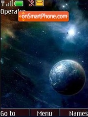 Скриншот темы Space