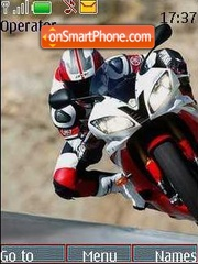 Moto 2 theme screenshot