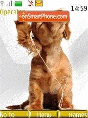 Dog meloman theme screenshot