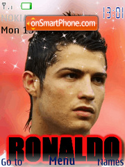 Ronaldo theme screenshot