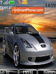 Toyota Celica 01 theme screenshot