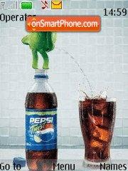 Pepsi Twist es el tema de pantalla