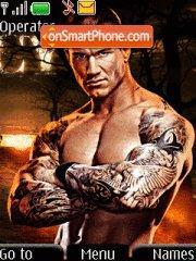 Randy Orton 01 theme screenshot