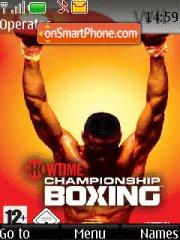 Boxing 02 theme screenshot