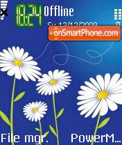 White Flower 02 es el tema de pantalla