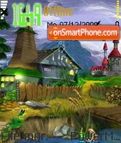 Fantacy World tema screenshot