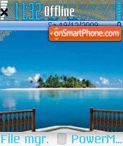 Скриншот темы Island 08