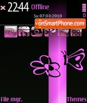 SpringPink es el tema de pantalla