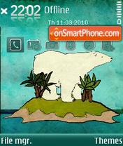 Lost Bear es el tema de pantalla