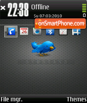 Symbian 09 theme screenshot