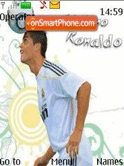 Ronaldo in Real theme screenshot