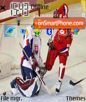 Hockey Vancouver theme screenshot