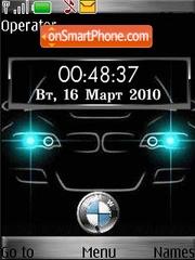 Bmw clock animated theme screenshot