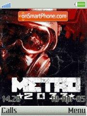 METRO 2033 es el tema de pantalla