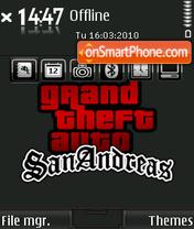 GTA San Andreas 08 es el tema de pantalla