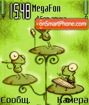 Frog Land es el tema de pantalla