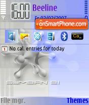 2 colors theme screenshot