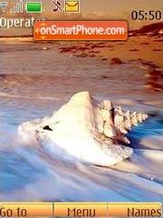 Capture d'écran Beach thème