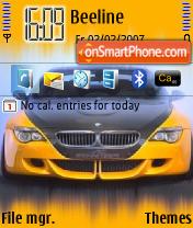 Скриншот темы BMW Schnitzer