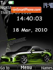 Скриншот темы Porsche With Tone